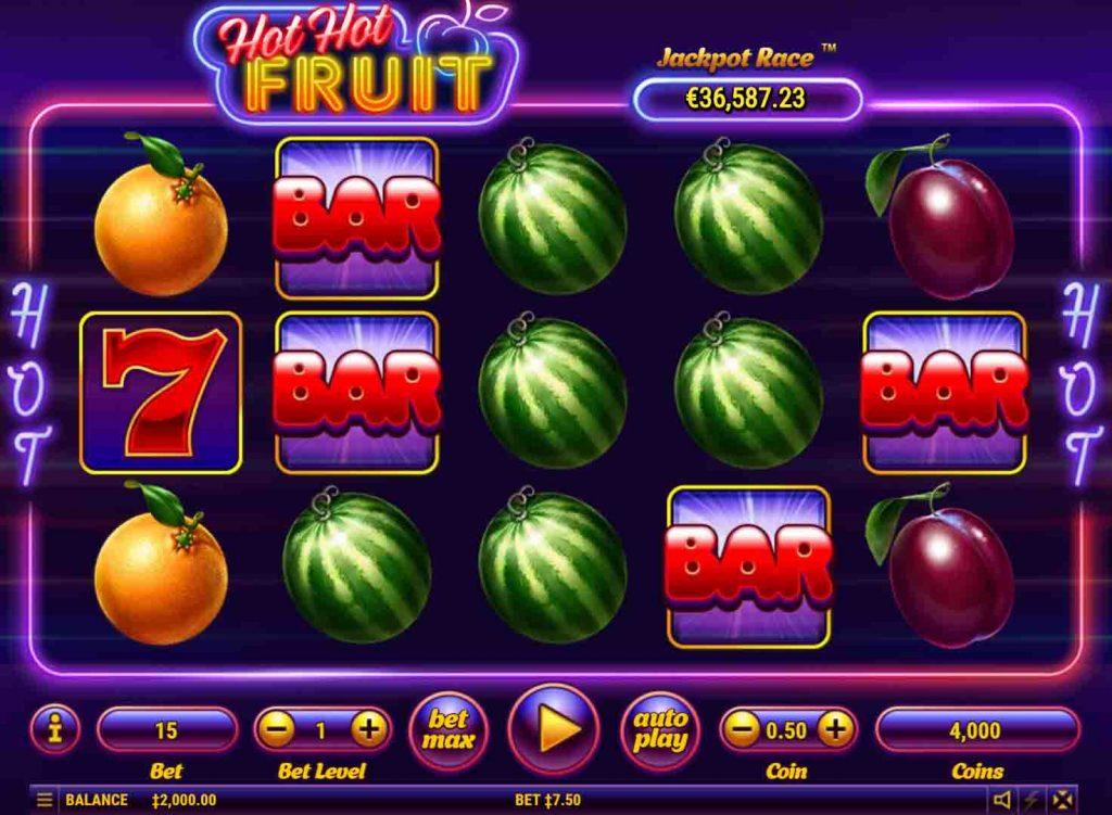 hot hot fruit เกมสล็อตออนไลน์จากค่ายดังยอดฮิต Habanero ที่มีผู้เล่นมากที่สุด เปิดให้บริการตลอด 24 ชั่วโมง