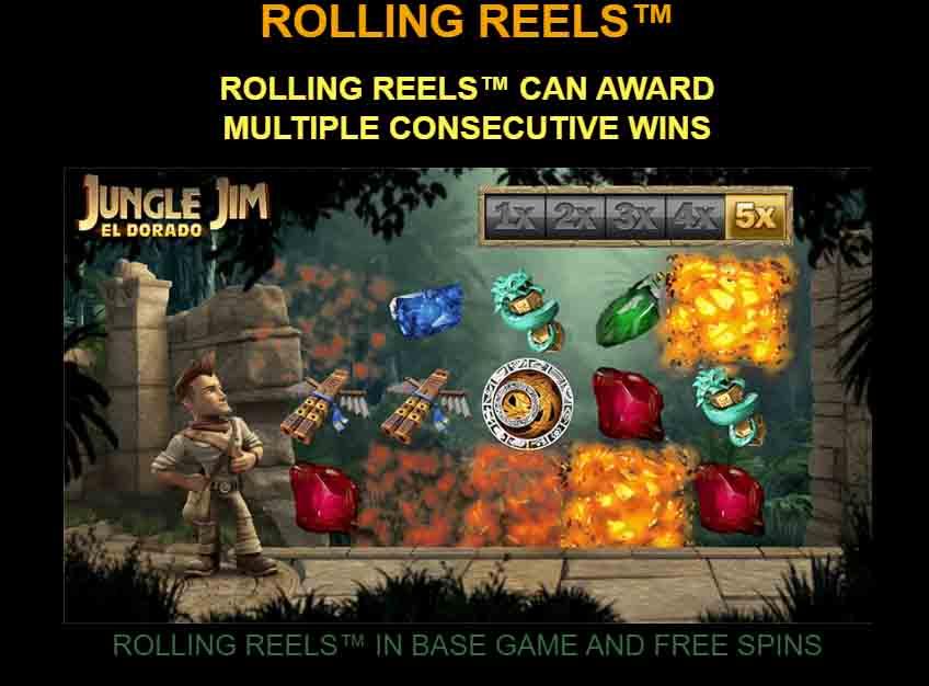 Jungle jim เกมสล็อตจากค่ายดัง Microgaming บริการดี ทุกรัดับประทับใจ