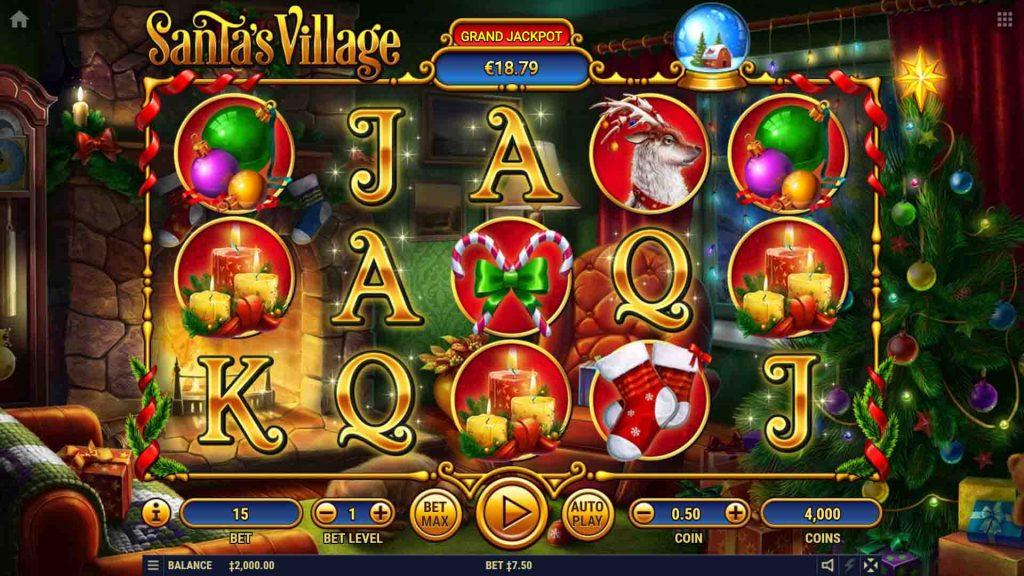 Santas Village เกมสล็อตออนไลน์ จากเว็บสล็อตชื่อดัง bigwin บริการทุกระดับประดับใจ