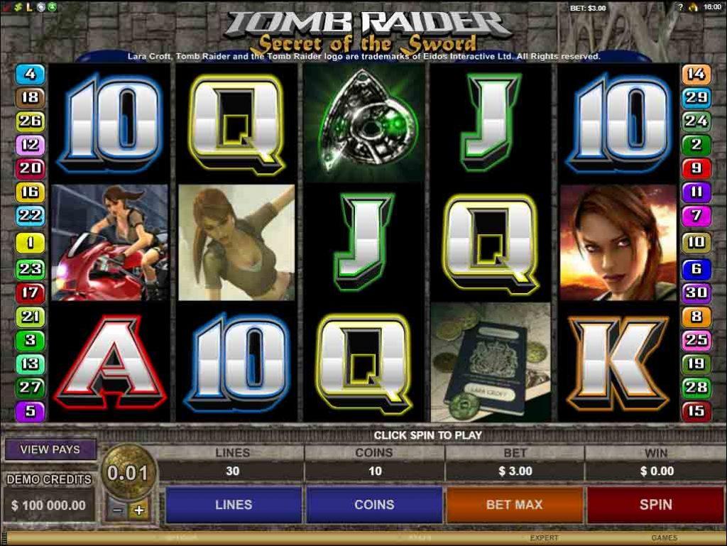 Tomb Raider Secret of the Sword เกมสล็อตออนไลน์ ที่จะพาเพื่อนๆ ทุกคนไปผจญภัยกับสาวสวยชอบลุ้น