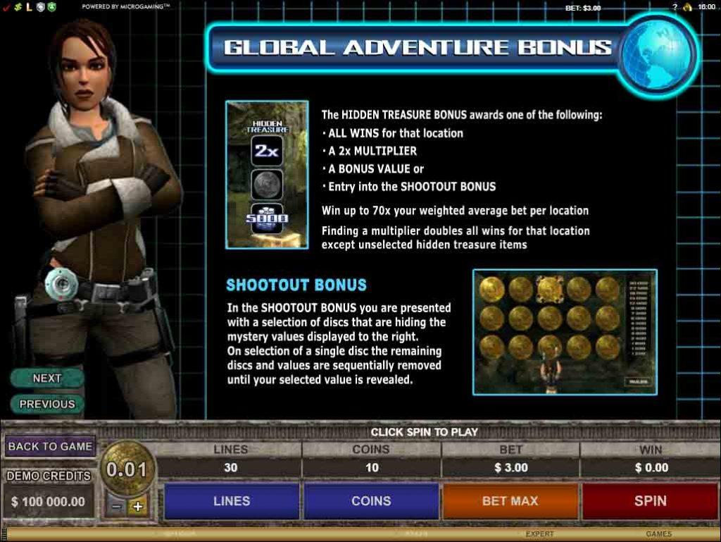Bonus Credit เกมสล็อต Tomb Raider Secret of the Sword  เปิดให้บริการตลอด 24 ชั่วโมง