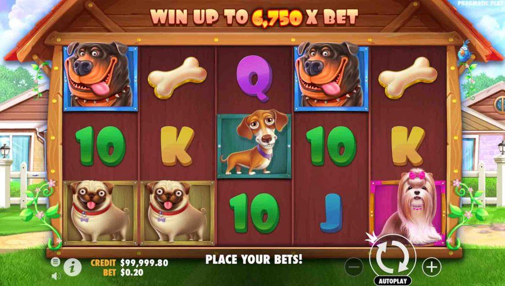 The Dog House เกมสล็อตจากค่าย Pragmatic Play  มีเกมมากมายที่เต็มไปด้วยคุณภาพ