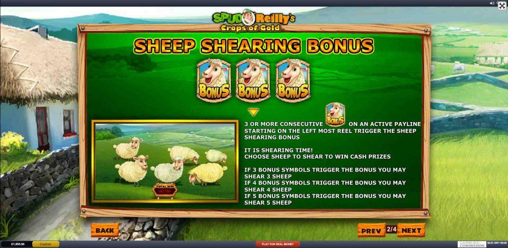 โบนัสเกมสล็อต SPUD O' REILLY'S CROPS OF GOLD จากค่ายเกมดังยอดฮิต Playtech ผู้ให้บริการเกมสล็อตรายใหญ่ มีเกมมากกว่า 200 เกม