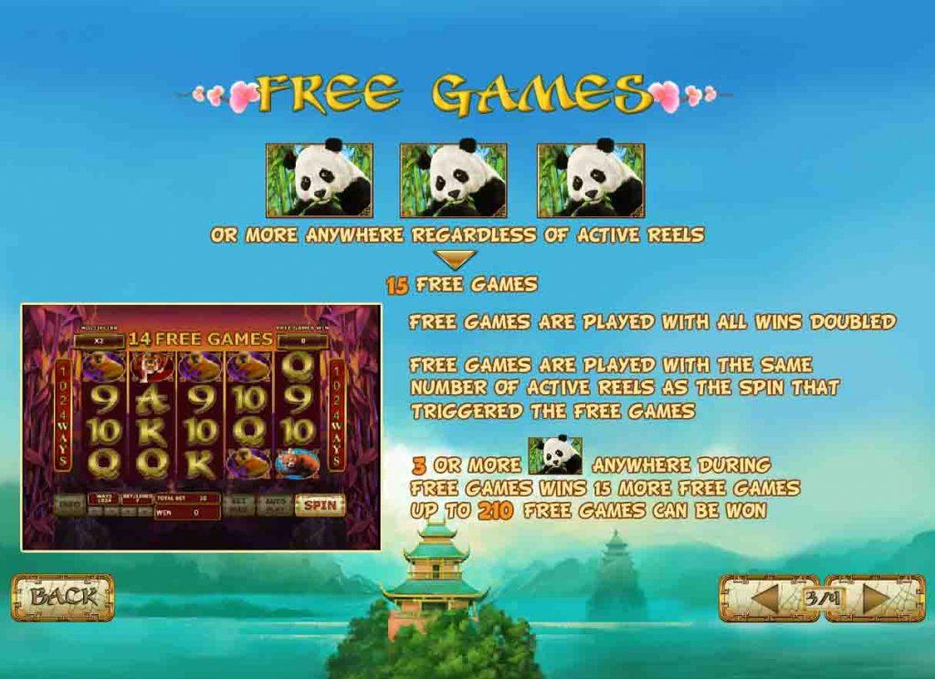 โบนัสเกมสล็อต Lucky Panda จากค่ายดัง Playtech ผู้ให้บริการเกมสล็อตมานาน